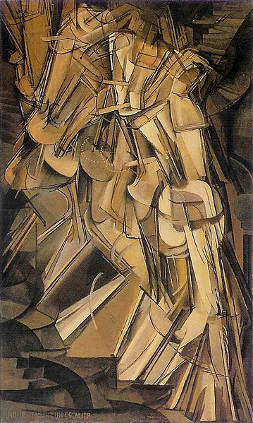 359px-Duchamp_-_Nude_Descending_a_Staircase