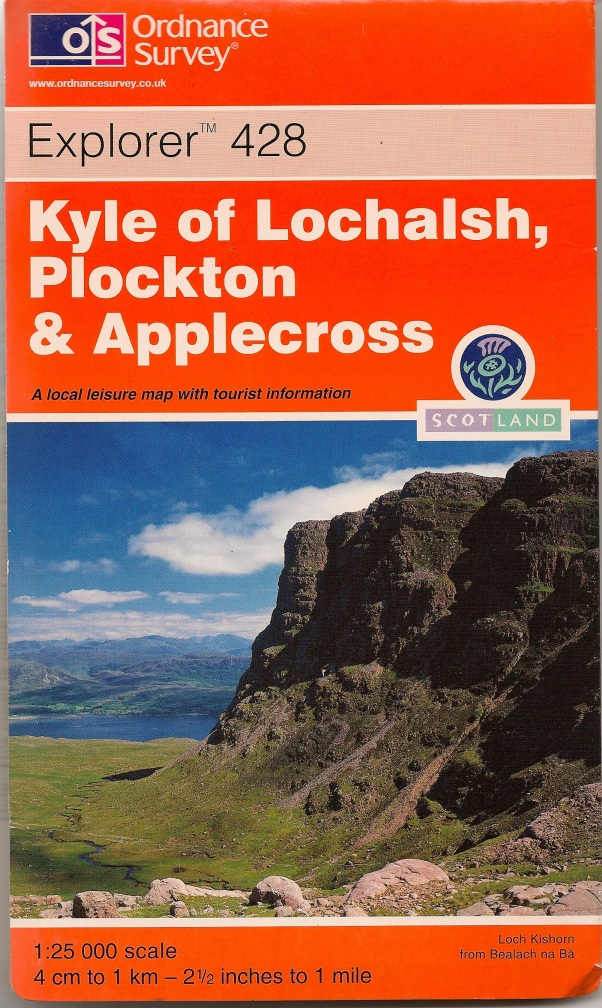 OS 1:25000 Kyle of Lochalsh