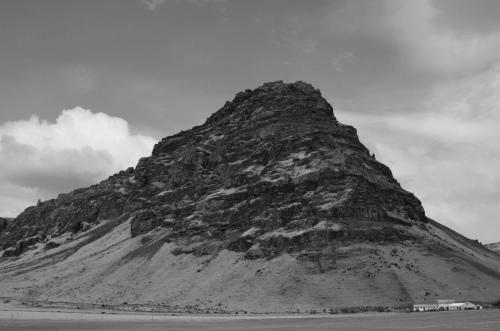 an Icelandic crag