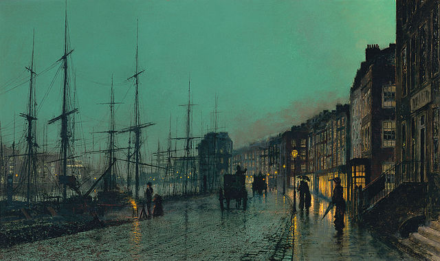 640px-John_Atkinson_Grimshaw_-_Shipping_on_the_Clyde_(1881)