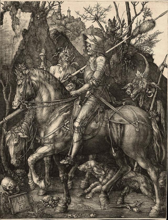 Albrect Durer Knight Death & Devil