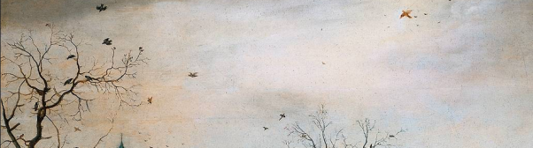 detail of Averkamp's Winter Landscape