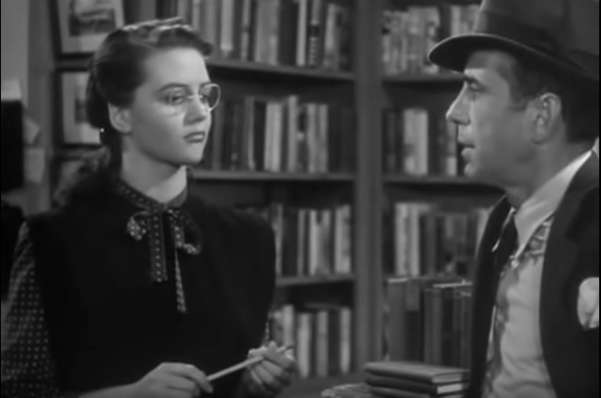 Marlowe in the Acme Bookshop (The Big Sleep)