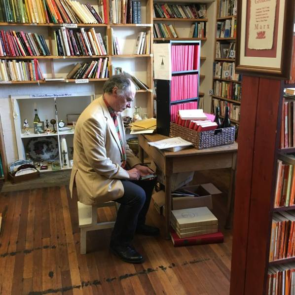 In The Bookshop - photo Shaun Bythell